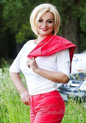 Ukrainian Exotic Single Woman Elena From Kiev 60 Yo